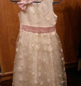 Новогоднее платье для прицессы