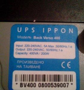 Бесперебойный блок питания UPS IPPON