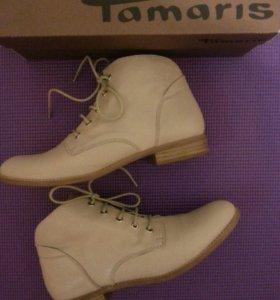 Новые ботинки Tamaris 38-38,5