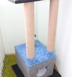 Домик для кошки/когтеточка
