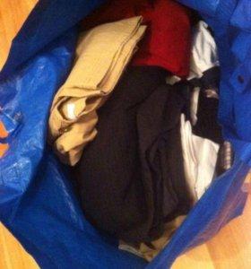 Пакет с одеждой