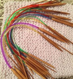 Набор спиц бамбук