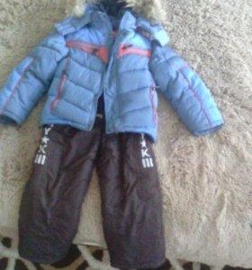 Зимние куртка и брюки для мальчика
