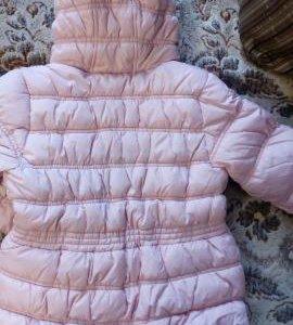 Новая куртка next  5/6 лет