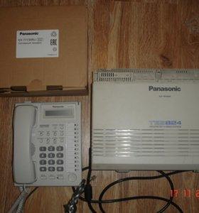 Атс panasonic KX-TES824+ Системный телефон KX-T773