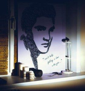 Портрет Elvis Presley. Ручная работа. Подарок