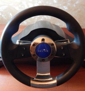 Игровой руль Oklick Sportlinne W-3