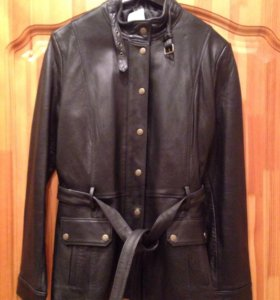 Новая кожаная куртка 50 размер
