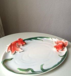 """Тарелка """"Красная рыбка"""""""