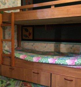 Кровать 2- ярусная