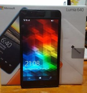 Телефон Microsoft Luciano 640 lte dual sim