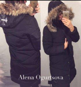 Удлиненная куртка новая