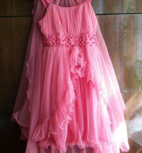 Платье для девочки 5-8лет