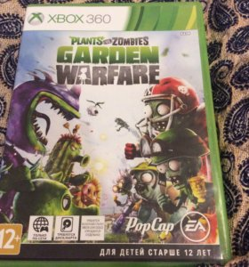 Игра на XBOX 360 Garden warfare.