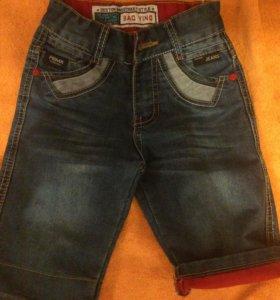 шорты джинсовые рост 104