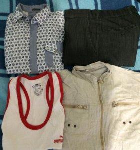 Мужские вещи пакетои
