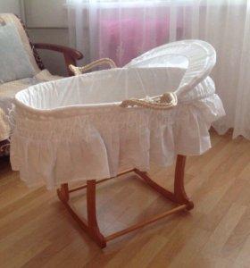 Кроватка-люлька для малыша Mothercare