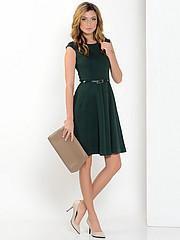 Платье темно-зеленое