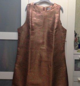 Платье новое золотое