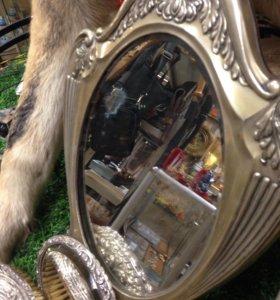 Набор Зеркало / щётка / зеркальце с ручкой
