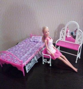 Набор игруш мебели (без куклы)