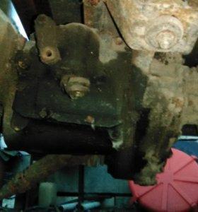 Двигатель, кпп и раздаточная коробка на а/м УАЗ