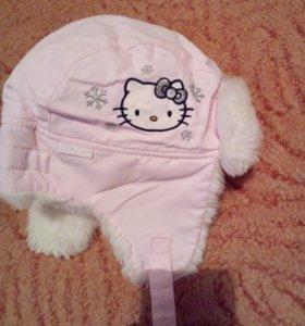 Продам шапку зимнюю для девочки.