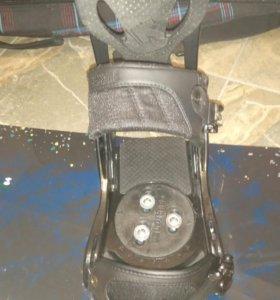 Сноуборд 164 крепления ботинки Burton