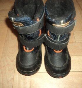 Ботинки утепленные фирмы Antilopa по стельке 15 см