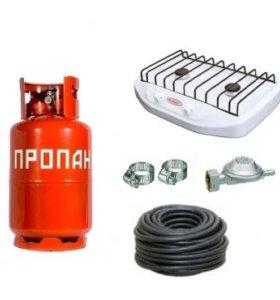 Газовая плита(переносная) на природу или в машину