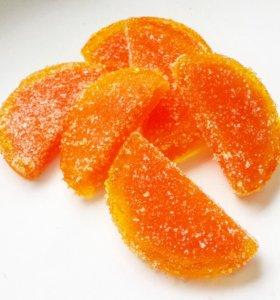 """Мыло-скраб """"Апельсиновые дольки"""""""