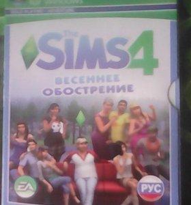 The  sims 4 весеннее обострение