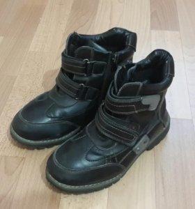 Ботинки зимние на мальчика 37р