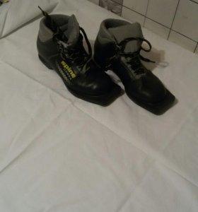 Ботинки лижные