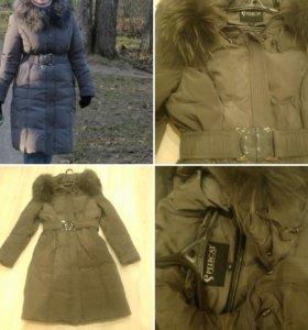 Зимние пальто, пуховик