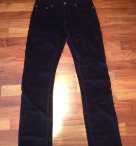 Вельветовые мужские брюки новые