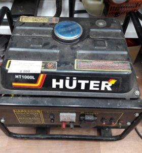 Бензиновая электростанция huter