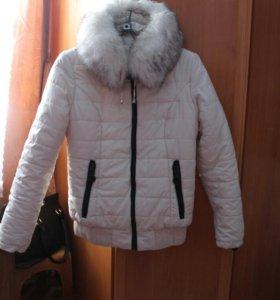 Зимняя куртка (синтепон). Идеальное состояние.