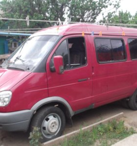 ГАЗ ГАЗель 3221 2.5МТ, 2006, микроавтобус