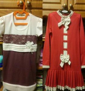 Платья для девочки (2 штуки)