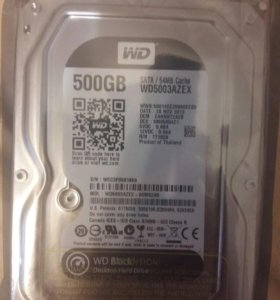 HDD 500Gb WD5003AZEX