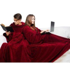 """Одеяло с рукавами """"Уютная зима"""""""