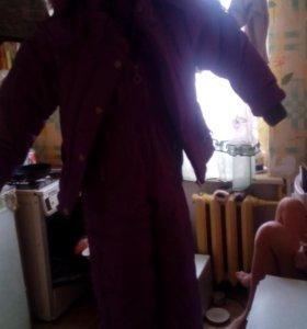 Комбинезон и Куртка зимние.