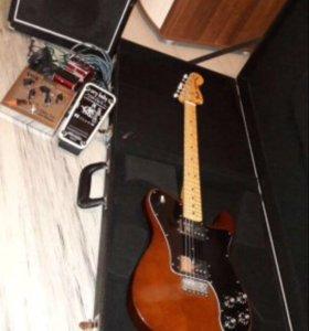 Электро- гитара с приблудами( обмен не предлагать)