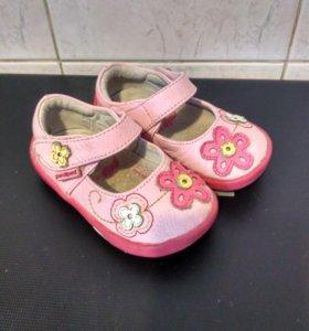 Туфельки pediped 19 размер