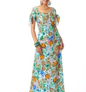 Новое платье из штапеля рр 44