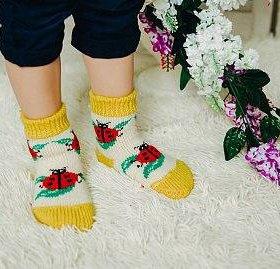 Носочки на малышей