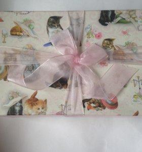 Подарочная коробка Котята