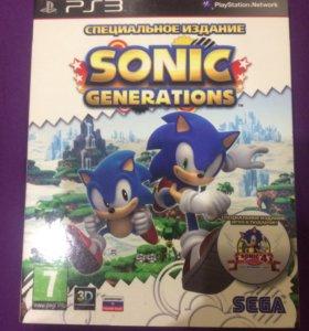 Sonic GENERATION на ps3