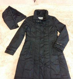 пуховик пальто на синтепоне